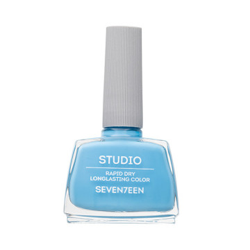 Lac de unghii Seventeen STUDIO RAPID DRY LASTING COLOR No 66 Light Blue