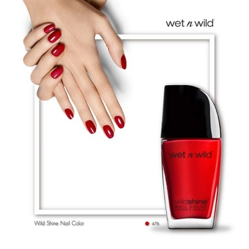 Poze Lac de unghii Wet n Wild Wild Shine Nail Color Red Red, 12.3 ml