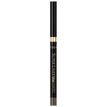 Poze Liner ochi L'Oreal Paris Superliner Mat Matic 03 Taupe Grey 0.3g