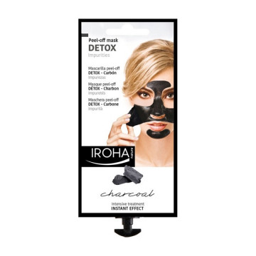Masca detoxifianta Iroha Peel-Off Mask Detox Impurities Charcoal