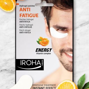 Masca energizanta pentru ochi Iroha Hydrogel Patches Anti-Fatigue Eyes Energy Vitamin Complex for Man