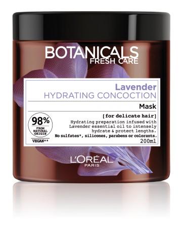 Poze Masca hidratanta Botanicals Fresh Care cu ulei de lavanda pentru par fin, sensibilizat 200 ml