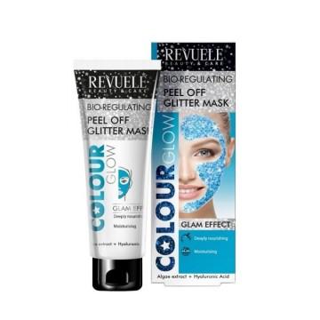 Poze Masca hidratanta Revuele Bio-Regulating Peel Off Glitter Mask 80ml