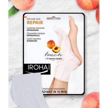Masca pentru picioare Iroha Foot Mask Socks Repair Peach