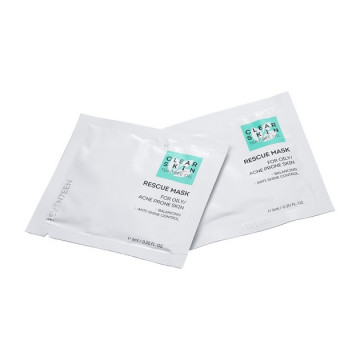 Masca Seventeen CLEAR SKIN RESCUE MASK DOUBLE POUCH 6+6 ML