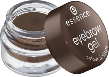 Poze Mascara gel pentru sprancene Essence eyebrow gel colour & shape 01 Brown