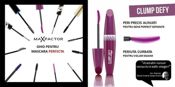 Poze Mascara Max Factor Clump Defy Black