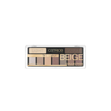 Poze Paleta Catrice The Smart Beige Collection Eyeshadow Palette 010 Nude But Not Naked