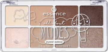 Poze Paleta farduri de pleoape Essence All About Nudes eyeshadow 02 Nudes 9,5 gr