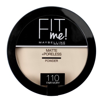 Poze Pudra compacta Maybelline Fit Me Matte & Poreless 110 Fair Ivory 14g