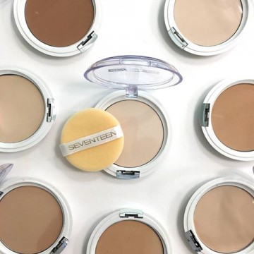 Poze Pudra Seventenn Natural Silky Transparent Compact Powder No 3 - Medium Beige
