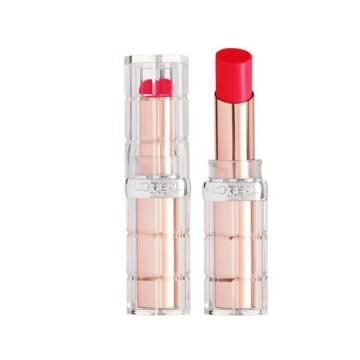 Ruj L'Oreal Paris Color Riche Plump&Shine Ruj volum instantaneu - 3.5g, 102 KISS (Watermelon)