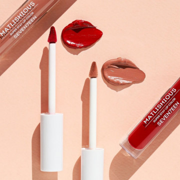 Ruj mat Seventeen MATLISHIOUS SUPER STAY LIP COLOR No 01