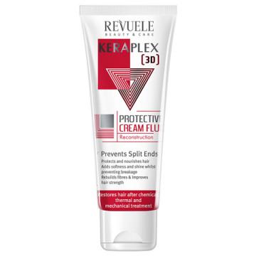 Ser protector pentru par Revuele Keraplex protective hair cream fluid 80ml