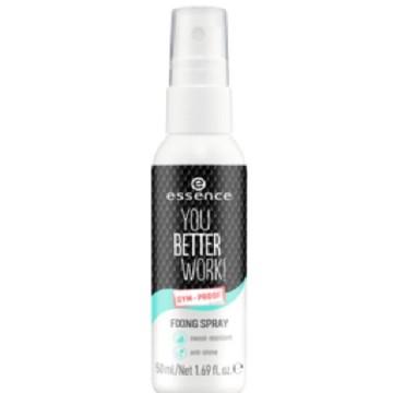 Spray pentru fixarea machiajului Essence YOU BETTER WORK! FIXING SPRAY