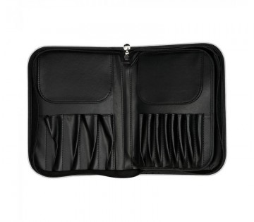 Poze Trusa Boozy Cosmetics 24 pc Brush Case White