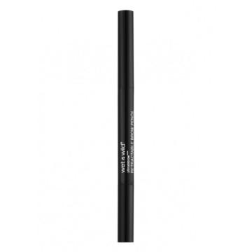 Creion de sprancene retractabil Wet n Wild Ultimate Brow Retractable Pencil Medium Brown