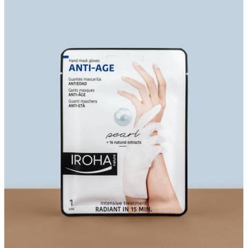 Crema de maini Iroha Hand Mask Gloves Anti-Age Pearl