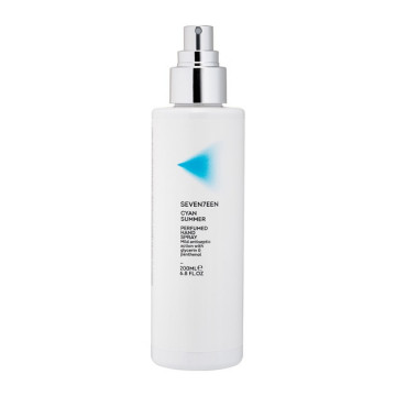 Dezinfectant parfumat Seventeen CYAN SUMMER PERFUMED HAND SPRAY 200 ML
