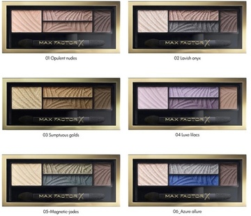 Poze Fard de ochi Max Factor Smokey Eye Drama Shadow 02 Lavish Onyx