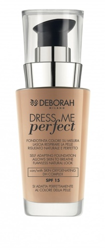 Fond de ten Deborah Dress Me Perfect FDT 02 Beige, 30 ml
