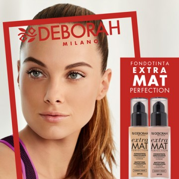 Poze Fond de ten Deborah Extra Mat Perfection Fdt 02 Beige