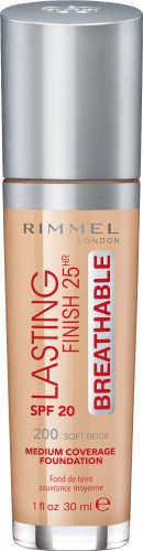Poze Fond de ten Rimmel Lasting Finish Breathable 200 30ml