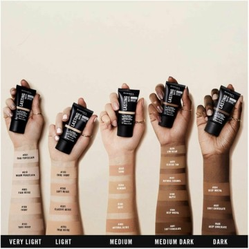 Fond de ten Rimmel LASTING MATTE foundation - 203 True Beige