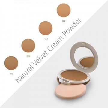 Fond de ten Seventeen Natural Velvet Cream Powder No 3