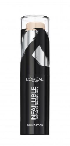 Fond de ten stick L'Oreal Paris Infaillible Shaping Stick 120 Rose Vanilla - 9g
