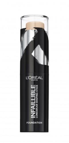 Poze Fond de ten stick L'Oreal Paris Infaillible Shaping Stick 160 Sand - 9g