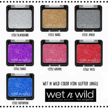 Glitter Wet n Wild Color Icon Glitter Single Binge, 1.4 g