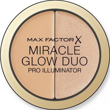 Iluminator Max Factor Miracle Glow Duo, 20 MEDIUM, 11 g