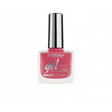 Lac de unghii Deborah Gel Effect Nail Polish Ultra Glossy 126 Pink Coral Jelly