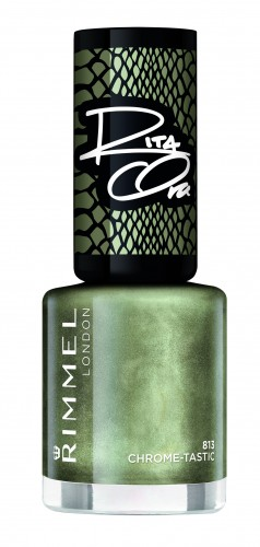 Poze Lac de unghii Rimmel 60 Seconds By Rita Ora 813 Chrome-Tastic