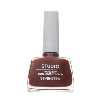 Lac de unghii Seventeen STUDIO RAPID DRY LASTING COLOR No 60 Red Brown