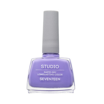 Lac de unghii Seventeen STUDIO RAPID DRY LASTING COLOR No 83 Light Purple