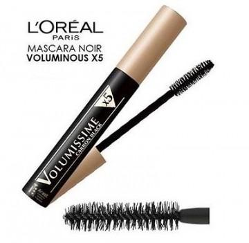 Mascara volum L'Oreal Paris Volumissime Extra Black 7.5ml