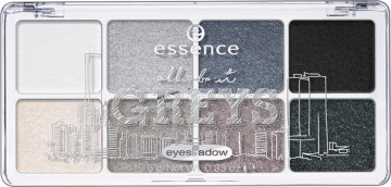 Poze Paleta farduri de pleoape Essence All About Greys eyeshadow 04 Greys 9,5 gr