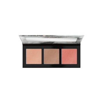 Poze Paleta iluminare si conturare Catrice LUMINICE HIGHLIGHT & BLUSH GLOW PALETTE 010 Rose Vibes Only