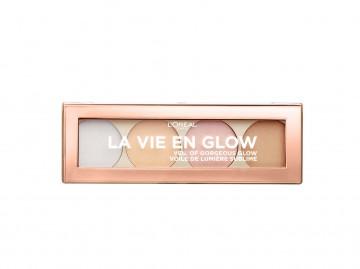 Poze Paleta iluminatoare L'Oreal Paris La Vie En Glow 02 Cool Glow - 5 g