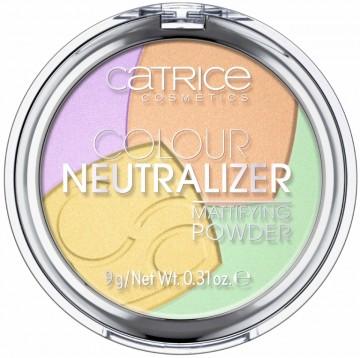 Pudra corectoare Catrice Colour Neutralizer Mattifying Powder 010
