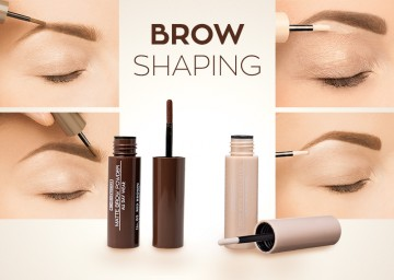 Poze Pudra pentru sprancene Seventeen Matte Brow Powder All Day Wear  No 03 - RED BROWN