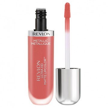 Poze Revlon Ultra HD Metallic Matte Lip Color HD 700 Flare