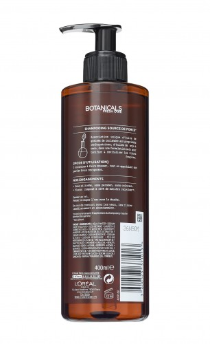 Poze Sampon fortifiant Botanicals Fresh Care Coriander Strength Cure pentru par fragil 400 ml