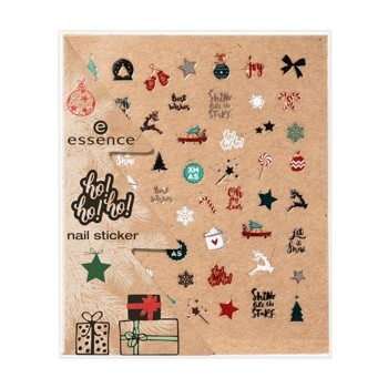 Poze Stickere pentru unghii Essence ho!ho!ho! nail stickers 01