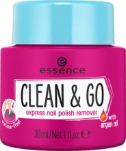 Dizolvant Essence CLEAN & GO EXPRESS NAIL POLISH REMOVER  30ml