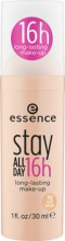 Fond de ten Essence stay all day 16h long-lasting make-up 10 Soft Beige 30 ml