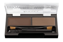 Kit pentru sprancene Rimmel Brow This Way, 002 Mid Brown