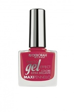 Lac de unghii Deborah Gel Effect Nail Enamel 67  Red Running(LE), 8.5 ml